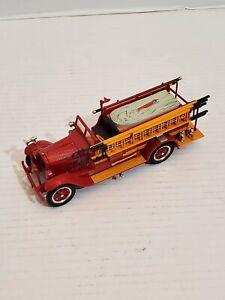 1928 REO Fire Truck Engine 1 Ladder Hose Siren Bell