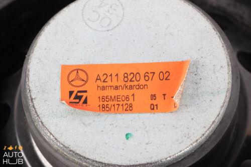 07-09 Mercedes W211 E350 E550 E63 AMG Rear Left Driver Side Door Speaker OEM
