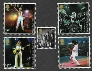 Queen-Live-Freddie-Mercury-2020-set-mnh-Great-Britain-stamps-Royal-Mail-mnh