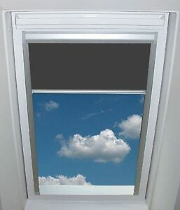 VERDUNKELUNGSROLLO-DKA-Aluminium-Thermoblocker-fuer-Fakro-Dachfenster-FTL-etc
