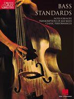 Bass Standards Sheet Music Classic Jazz Masters Series Guitar Collecti 000699144