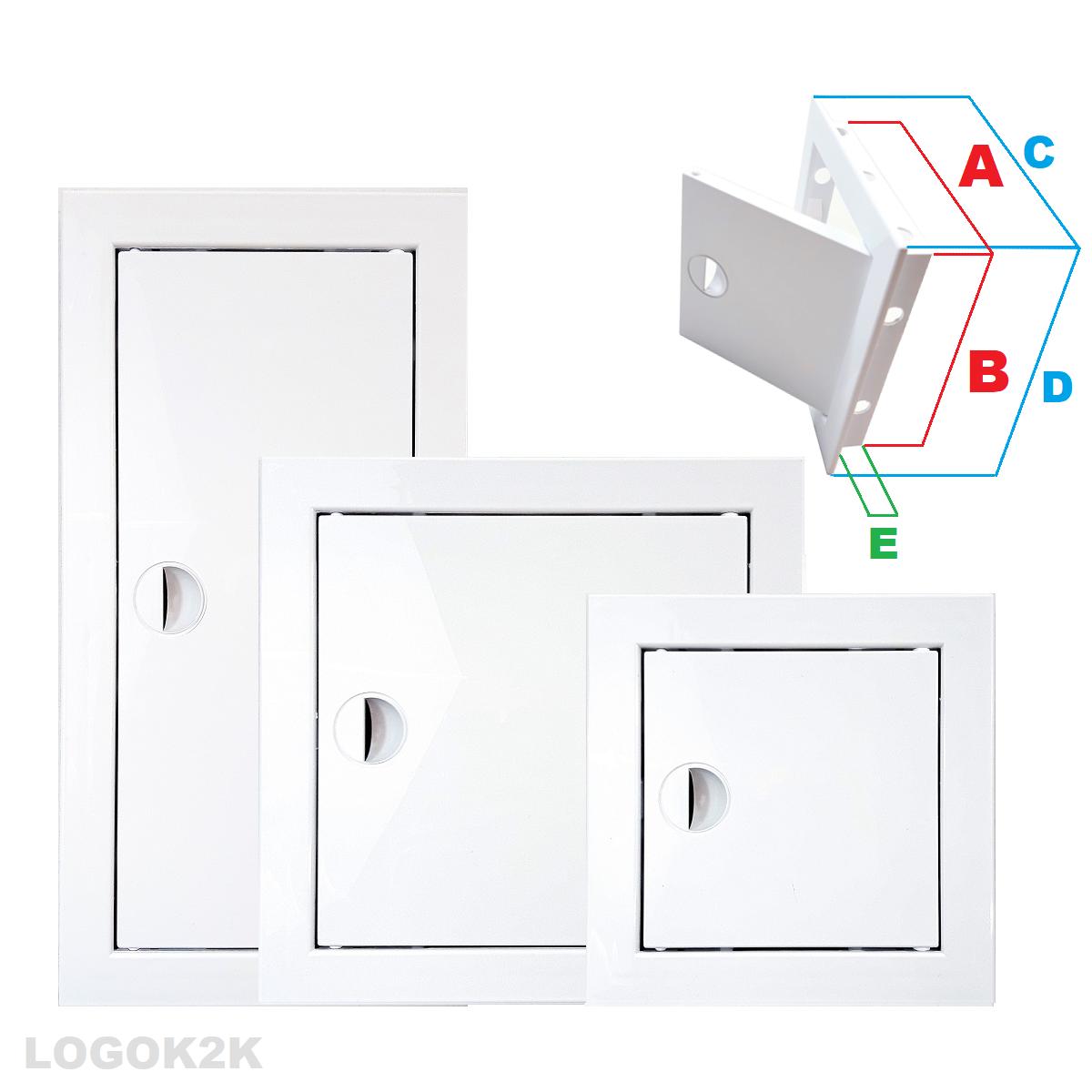 Access Panel Inspection Revision Plastic Door Service Point Hatch Few Sizes PH