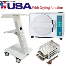 Autoclave Steam Sterilizer 18l Drying Sterilizationmobile Built In Medical Cart