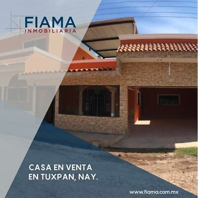 CASA EN VENTA EN TUXPAN, NAYARIT  $1,400,000