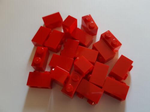 LEGO ® 20 x 3004 Basic pierre 1 x 2 rouge 300421 #bc02 CITY CREATOR Red