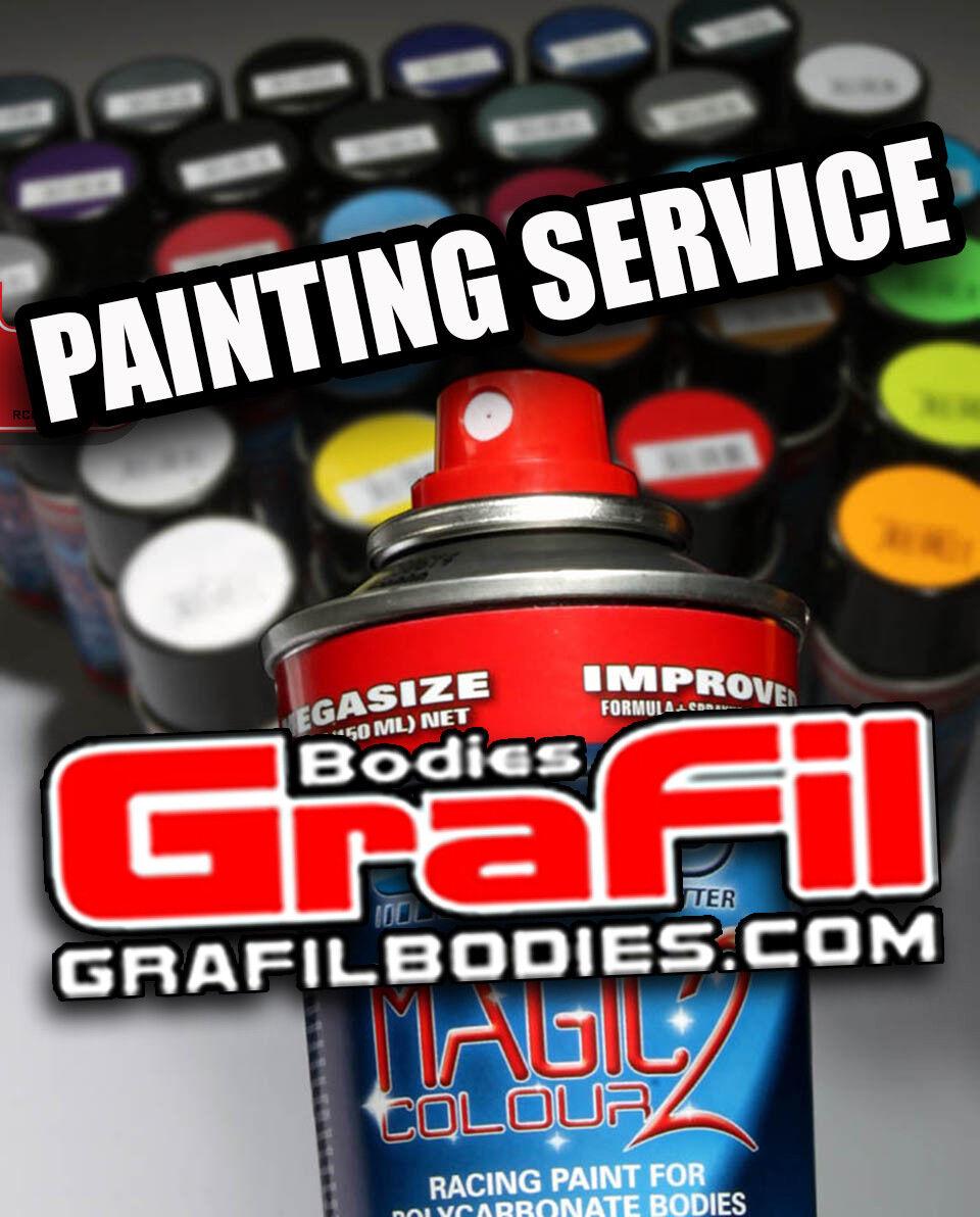 Servicio De Pintura Por GraFil Bodies-para todos los modelos de 1 5 Grafil camión Rally