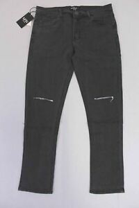 best website sneakers footwear Details about Boohoo Men's Big And Tall Ripped Knee Skinny Jeans SV3 Black  Size 38 NWT