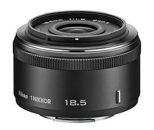 Nikon-1-NIKKOR-18-5mm-f-1-8-Black-Lens-For-Nikon-CX-Format-w-Tracking-NEW