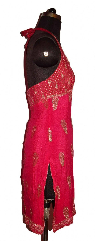 INDIAN DESIGNER RITU KUMAR SEXY BACL LESS DRESS V… - image 3