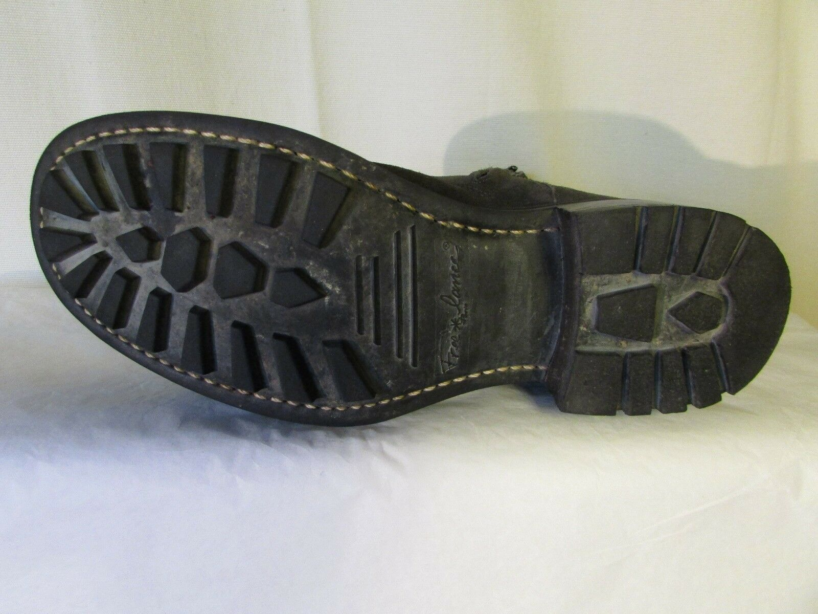 Stiefel Stiefel Stiefel Stiefletten Biker FREE LANCE Wildleder grau Größe 41 262a18