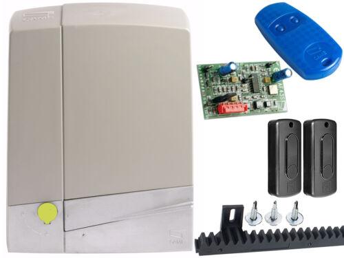 Schiebetorantrieb Set CAME BXV 6 SAFE mit Nylon Zahnstange