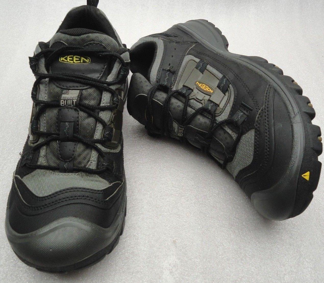 Vtg USA Keen Utility Slayton Niedrig Hiking Schuhes Soft Toe Toe Soft  Herren 12 D ASTM F2892-11EH c69294