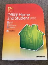 2017 Microsoft Office 2010 Home and Student For 3PCs Retail Box New