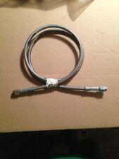"""goodridge braided stainless brake line hose front rear harley 47"""" universal new"""