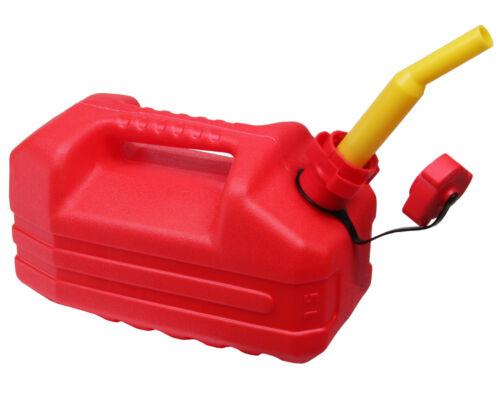 Ondis24 Reservekanister Benzinkanister Öl Kraftstoffe UN 5 L