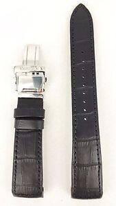 Seiko-Premier-Kinetic-Black-Strap-5M54-0AA0-SRN005P1-Watchband-4A072-21mm-5D88