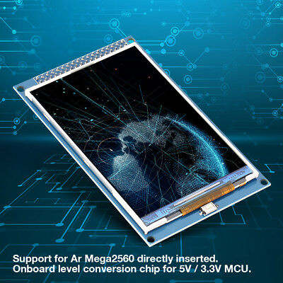 Details about 3 5inch ILI948 TFT LCD Color Display Screen Module 320x480  for Ar Mega2560 16Bit