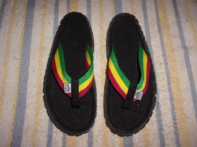 Bob Marley Flip-Flop SANDALS MEN'S SIZE 9