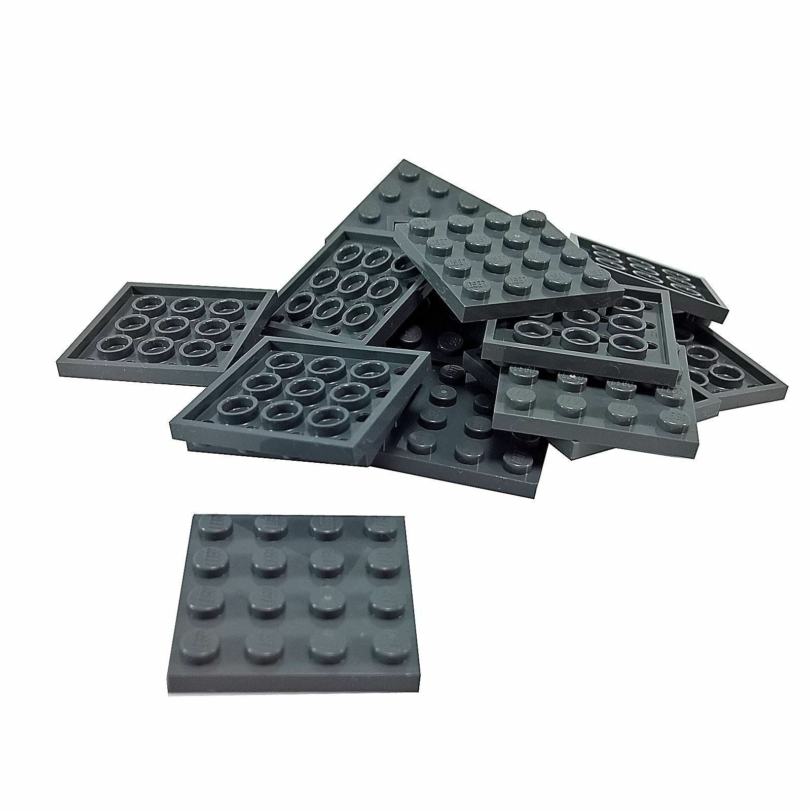 10x Lego ® 3031 Basic Plates Plate Plate 4x4 Red