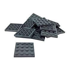 DARK BLUISH GREY LEGO Plate 4 x 4 x 20 DGBJ17 3031