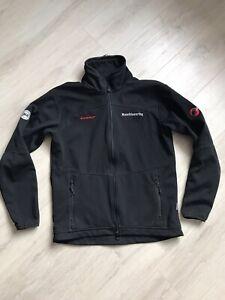 Mens Mammut Windstopper Mountain  Black Fleece Jacket Size L