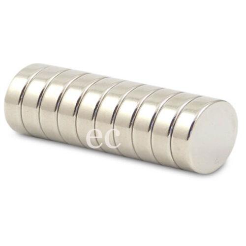 Très fort 9mm x 3mm rare terre néodyme disque rond aimants de qualité N35