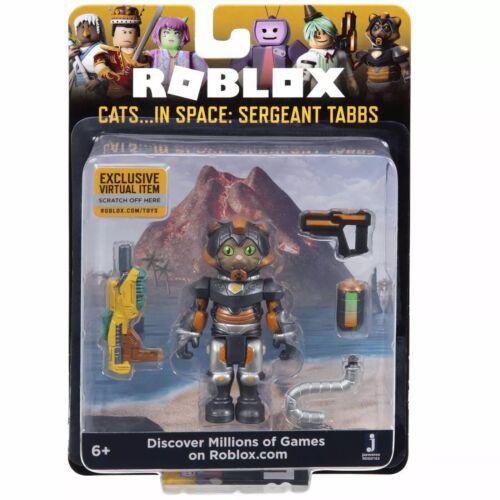 SERGENTE tabbs Roblox Core Figura-gatti.. nello spazio