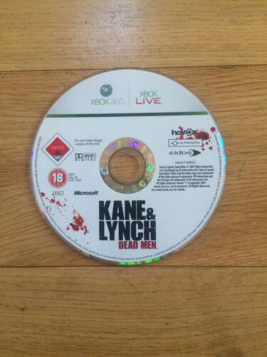 1 of 1 - Kane & Lynch: Dead Men for Xbox 360 *Disc Only*