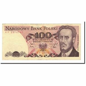 [#563737] Banknote, Poland, 100 Zlotych, 1975-1988, 1982-06-01, KM:143d - France - Country: Poland - France