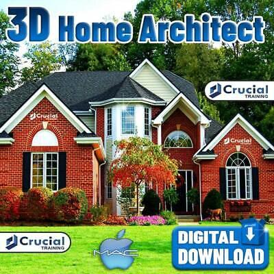 3d Home Design Architect Software Home Kitchen Bed Bath Remodel Mac Download 644824237916 Ebay