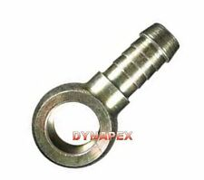 "Fitting 8mm or 5/16"" Hose Barb x 10mm or 3/8"" Banjo Steel Zinc plated    L-21"
