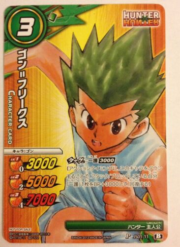 Miracle Battle Carddass Hunter × Hunter P JS01-11 Promo