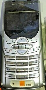 MOTOROLA-C250-Silver-MOBILE-PHONE-One-lady-owner-from-new-Original-box-No-defect