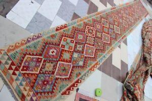 437814-Best-Quality-Hand-Woven-Lamb-Wool-Kilim-Size-610-x-85-CM