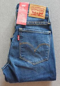 Damen-Maedchen-Jeans-LEVIS-LEVI-S-715-Bootcut-Lake-Front
