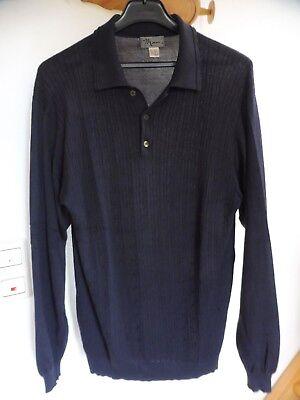 DemüTigen Pullover Pulli Von Man's Gr 52/54 Dunkelblau Gebraucht Gesundheit FöRdern Und Krankheiten Heilen Herrenmode Pullover & Strick