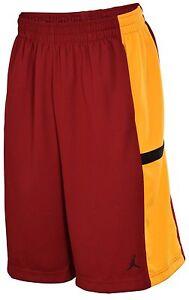 9497cf1889f Nike Jordan Men's Basketball Shorts Bankroll 427579-677 Team Red ...