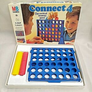 Vintage-1984-Connect-4-MB-Games-The-Vertical-Strategy-Game-100-complete