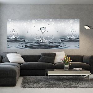 Toile Poster La Fresque Papier Peint Photo Image Mur Goutte D'eau Coeur 3fx3513vep-afficher Le Titre D'origine Miwgfcvz-07212416-292369811