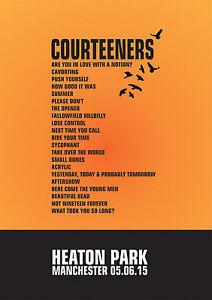 The-Courteeners-Set-List-Poster-Heaton-Park-Manchester-5th-June-2015