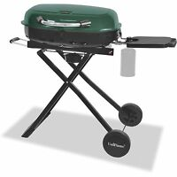 Portable Gas Grill Tailgating BBQ Camping Barbecue Propane LP Stainless Steel