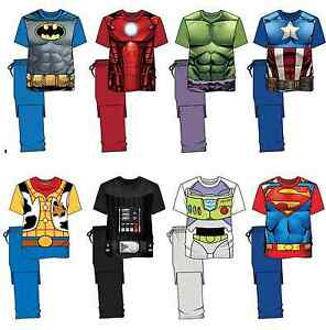 Supereroe Pigiama Da Adulti Batman Disney Originale Pjs Su Marvel Super Nightwear Eroe Titolo Mostra Set Uomo Dettagli Il 5wzIq5