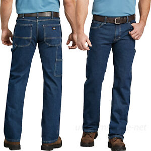 4e03e81d Image is loading Dickies-Work-Jeans-Mens-FLEX-Relaxed-Fit-Straight-