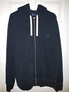 Men's Fleece Full Hooded Unc About Details Ralph Charlotte Polo HoodieCore Zip Lauren Xl OZTwuXPilk