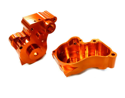 INTEGY RC C26485ORANGE Center Gear Box for Vaterra Twin Hammers 1.9 Rock Racer