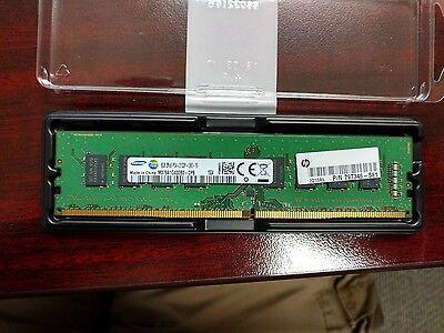 HP 4GB PN: J9P81AT // 75267-581 DDR4-2133MHz ECC Registered Memory Module 1x4GB
