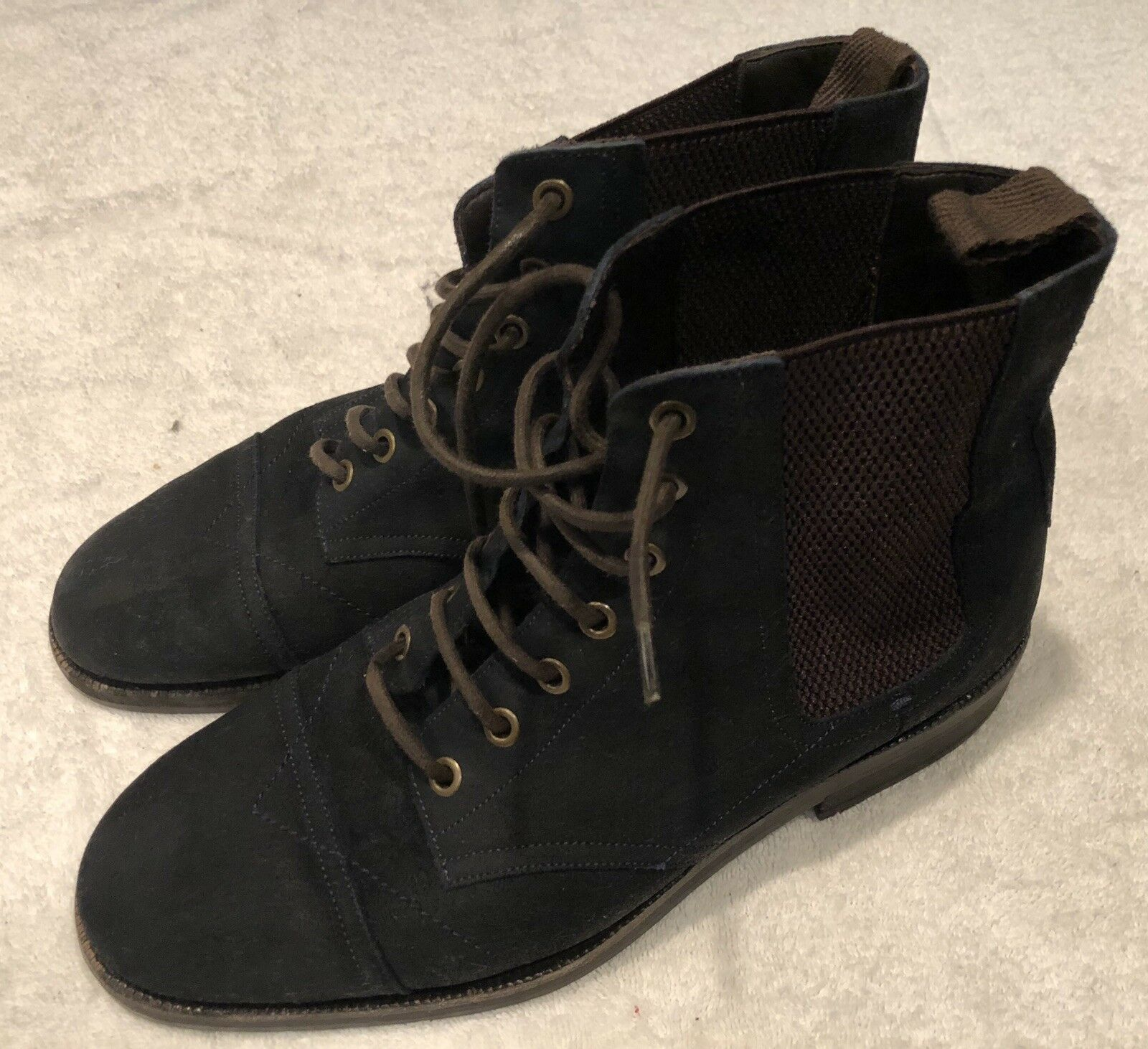 Jimmy Choo Mens Jules Waxed Suede Boots