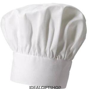 FRENCH CHEF HAT FANCY DRESS COOKING CAP CATERING ACCESSORY FRANCE ... 3815818f0de
