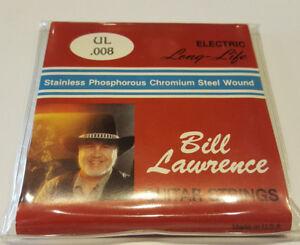 1-Satz-E-Gitarrensaiten-Bill-Lawrence-Stainless-Phosphorous-Chromium-Steel-UL008