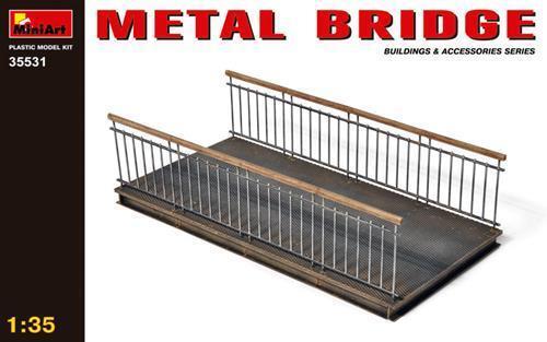 Metal Bridge Kit 1:35 Miniart MIN35531